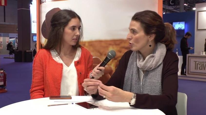 Ana Alonso, directora de comunicación de Escapadarural.com #TeContamosFitur