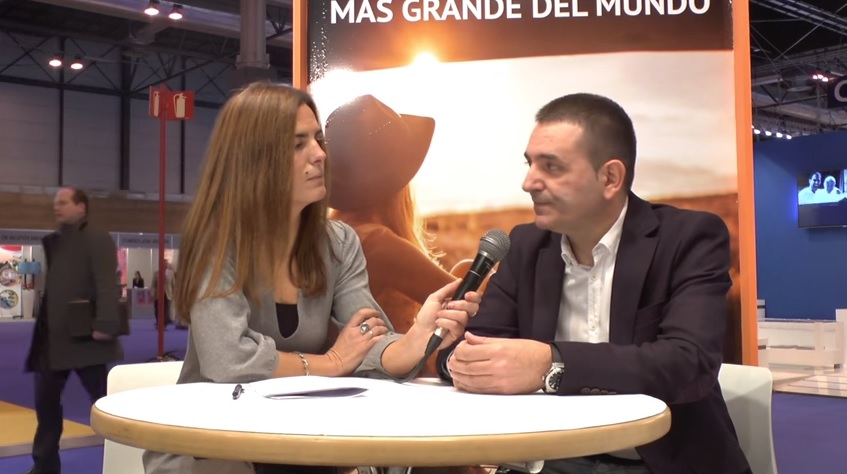 Jorge Zamora, director de Servivuelo #TeContamosFitur