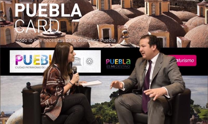 Roberto A. Trauwitz, secretario de turismo del Gobierno de Puebla #TeContamosFitur